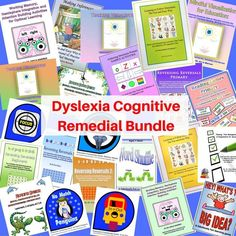 The Dyslexia Remedial Bundle offers a discounted selection of Dr. Warren's publications that can be used to strengthen and remediate the cognitive weaknesses as Memory Strategies, Writing Strategies, Help Teaching, Dyslexia Teaching, Teaching Resources, Teaching Materials, Teaching Tools, Teaching Ideas, Phonics Programs