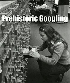 The Card Catalog-everybody knew how to alphabetize in the old days!