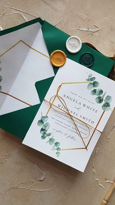 elegant wedding invitations for you brides, greenery wedding inspirations, wedding color palettes, wedding hairstyles, wedding decorations Embossed Wedding Invitations, Country Wedding Invitations, Gold Invitations, Wedding Invitation Wording, Wedding Stationery, Original Wedding Invitations, Invitation Design, Invitation Cards, Wedding Guest Book