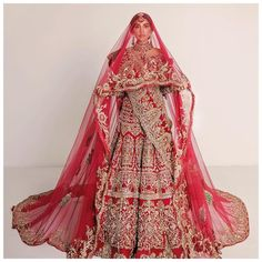 Indian Bridal Outfits, Bridal Dresses, Lehnga Dress, Muslim Dress, Royal Red, Bridal Lehenga, Wedding Wear, Party Wear, Indian Fashion