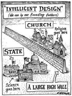 Intelligent design -- the one by our founding fathers.