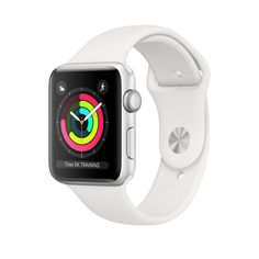 Sell My Apple Watch Series 3 Aluminium Case GPS in Used Condition for 💰 cash. Compare Trade in Price offered for working Apple Watch Series 3 Aluminium Case GPS in UK. Find out How Much is My Apple Watch Series 3 Aluminium Case GPS Worth to Sell. Apple Watch White, Apple Watch Silver, Buy Apple Watch, Smart Watch Apple, Cute Apple Watch Bands, Watch 2, Apple Smartwatch, Apple Watch Series 3, Wi Fi