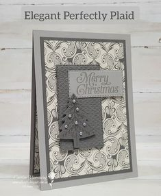 Week 1 of the Heart of Christmas 2021 from the Art With Heart Stampin' Up! Team. Fun Fold Cards, Folded Cards, Christmas Cards, Merry Christmas, Xmas, Basic Grey, Paisley Pattern, Embossing Folder, Hello Everyone