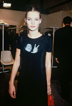Kate Moss young From Kate Jam & Diamonds Clara Berry, Gainsbourg Birkin, Karl Lagerfeld, Moss Fashion, Kate Moss Style, Heroin Chic, Queen Kate, 90s Models, Vogue