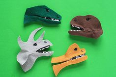 GODZILLA SWAP IDEA!!  Dinosaur crafts are an awesome way for your kids to step back in time and learn about the great beasts that used to walk this earth. | AllFreeKidsCrafts.com