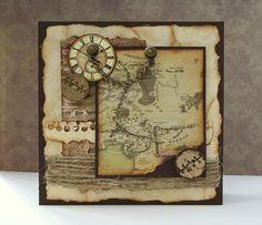 Handmade postcard (LOTR theme)
