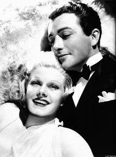 Jean Harlow and Robert Taylor, Personal Property.