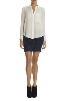 Junk Sequin Pencil Skirt $395. Shop Now>> http://www.ittybittyurl.com/1maw