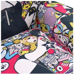 Limited Edition Wingchair | Artist: Tokidoki | Each sequentially numbered and signed by the artist | Edition of 33 | Image 2 of 5