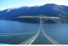 Hardanger Bridge, Norway travel places