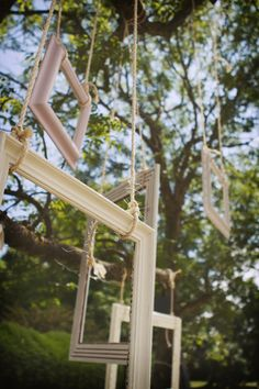 you don't have money for a photo booth! easy jus put some frames hanging fro… you don't have money for a photo booth! easy jus put some frames hanging from a tree and the guests can take pictures there Wedding Guest Suits, Our Wedding, Dream Wedding, Wedding Vintage, Wedding Bells, Wedding Dress, Hanging Frames, Hanging Photos, Empty Frames
