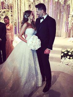 They're Married! Sofia Vergara and Joe Manganiello Tie the Knot in Palm Beach – See All the Photos http://www.people.com/article/sofia-vergara-joe-manganiello-wedding-details
