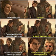 Anakin reunite with Ahsoka part 1/3 ❤ #SkyguyandSnips #AnakinSkywalker #MattLanter #AhsokaTano #AshleyEckstein @heruniverse