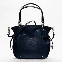 The Coach Audrey Patent Leather Cinched Tote
