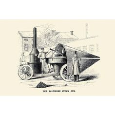 Buyenlarge 'Baltimore Steam Gun' Graphic Art Size:
