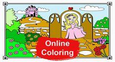 Princess Online Coloring Pages