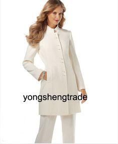Ladies long jacket suits
