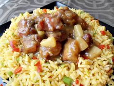Romanian Food, Fried Rice, Fries, Gluten Free, Yummy Food, Cooking, Ethnic Recipes, Curry, Pork