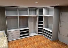 20 Trendy Home Office Closet Storage Built Ins Wardrobe Design Bedroom, Master Bedroom Closet, Wardrobe Closet, Closet Space, Closet Doors, Home Office Closet, Home Office Layouts, Dressing Room Design, Dressing Rooms