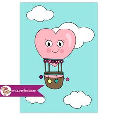 Poster Cupcake Muffin Pastell rosa hellblau Poster