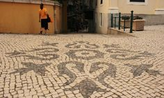 Paving in Portuguese