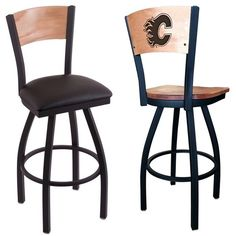 Calgary Flames NHL Laser Engraved Bar Stool. Choose from several options. Visit SportsFansPlus.com for details.