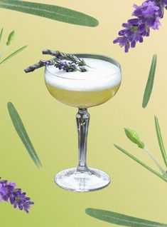 Lavender Cocktail, Mouth Watering Food, Sustainability, Drinking, Cocktails, Treats, Photos, Craft Cocktails, Sweet Like Candy
