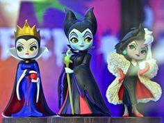 Disney Characters Q posket petit Villains 全3種セット
