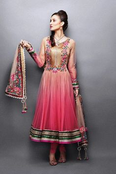 Stylish and New Indian Frock Designs For 2017-2018