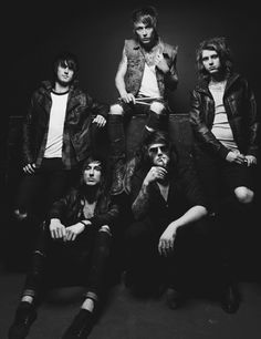 Danny Worsnop, Ben Bruce, Cameron Liddell, Sam Bettley, James Cassells - Asking Alexandria