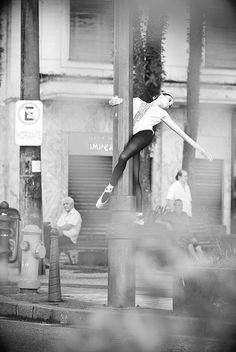 Urban dancer. Ballet beautie, sur les pointes !