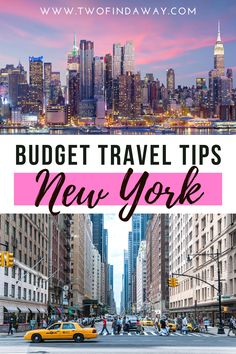 You don't need to be rich to visit NYC, it's possible to visit New York on a budget. Here we include our best budget tips, as well as all our travel costs during one week in New York. Travel tips for NYC I Best places to stay in NYC I Tips and tricks for traveling to NYC I Free Activities in New York I Travel Costs and Travel Budget in New York I Guide to an Affordable Visit to New York I How To Save in New York #newyork #newyorkcity #traveltips #budgettravel