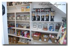 Kitchen Pantry Organization makeover and tons of pantry organizing ideas #kitchen #pantry #organizing organ idea, organizing ideas, pantry organisation, kitchen pantries, cereal dispens, pantry organization, pantri organ, organization ideas, organ pantri