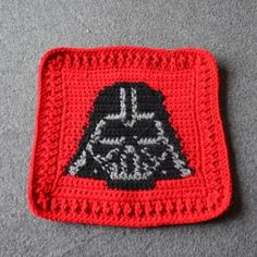free chart patterns for various star wars crochet squares to make a blanket
