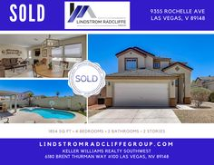 CONGRATULATIONS to our Sellers! 9355 Rochelle Ave in Las Vegas, 89147 is #SOLD! Helping you reach your Real Estate Goals is what we love to do. It has been an honor serving you. #LindstromRadcliffeGroup #LasVegasRealtor #LivinLRG #Realtor