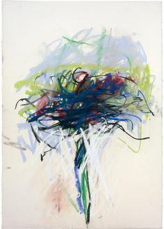 Joan Mitchell (American, 1925-1992), Untitled, 1992. Pastel on paper, 74.9 x 55.2 cm. The Joan Mitchell Foundation, New York.