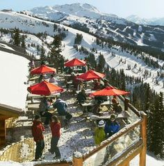 Whistler Beyond the Slopes: Crystal Hut on Blackcomb Mountain is a good place to eat and soak up the sun | The Seattle Times