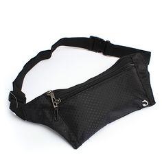 Adjustable waist bag pouch money belt for outdoor sport