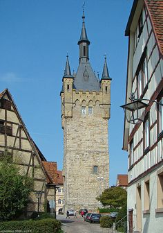 Blauer Turm (Blue Tower), Bad Wimpfen, Germany