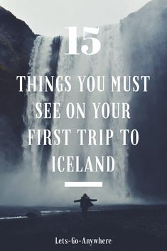 First trip to iceland. What to do in Iceland. Iceland Vacation. What to see in Iceland. Iceland waterfalls. #iceland #traveltips