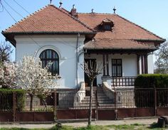 The neo-Romanian architectural style is one of the most original and strikingly beautiful orders that emerged in Europe during the intensely creative years of late Victorian-era. The Romanians of… Architecture Sketchbook, Architecture Board, Architecture Portfolio, Architecture Details, Hip Roof, Architectural Elements, Architectural Features, Small Windows, Building Facade
