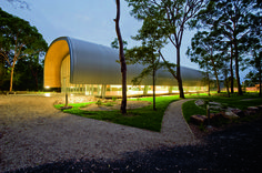 Milson Island Indoor Sports Stadium,Courtesy of AJ+C