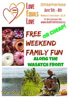 Free--Or Cheap!--Weekend Family Fun Along The Wasatch Front