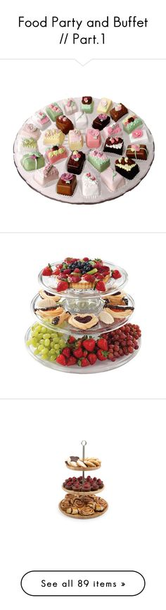 """""""Food Party and Buffet // Part.1"""" by raquel-malik-22 on Polyvore"""