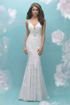 Allure Bridal Collection Welcome to Chantilly Bridal serving south central Kentucky for the past 28 years.Huge selecion of both Prom and Bridal. Wedding Gown Sizes, Bridal Wedding Dresses, Designer Wedding Dresses, Bridesmaid Dresses, 2017 Wedding, Lace Weddings, Bridal Gown Styles, Bridal Style, Bridal Collection