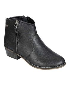 Take a look at this Black Dorado Ankle Boot on zulily today!