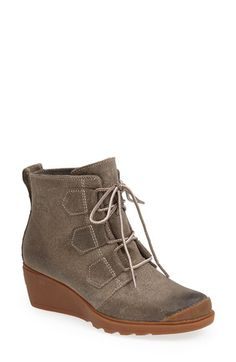 I need this boot! SOREL 'Toronto' Waterproof Lace-Up Boot (Women) available at #Nordstrom