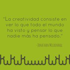 #KiwiQuote #FraseDelDia #Creatividad