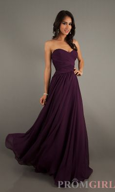 eggplant bridesmaid dress love this color!