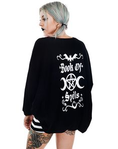 I need this cardigan. So comfy and goth chic!